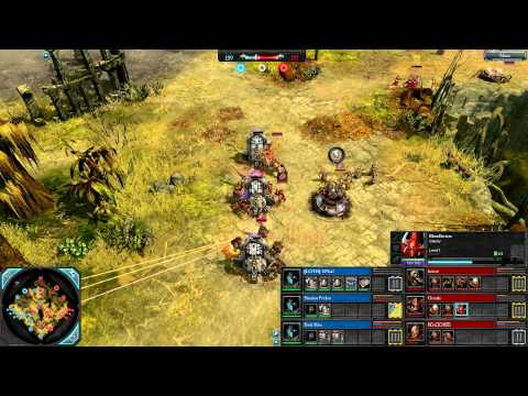 DoW2: Retribution — 3v3 | Faction War — Grey Knights [vs] Chaos | 1