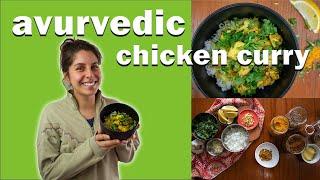 Ayurvedic Chicken Curry w/ Certified Humane Chicken | Ayurvedic Recipe to Increase Ojas