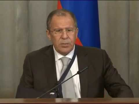 Пресс-конференция С.Лаврова и Т.Сойни | Press-conference of Sergey Lavrov and  T.Soini