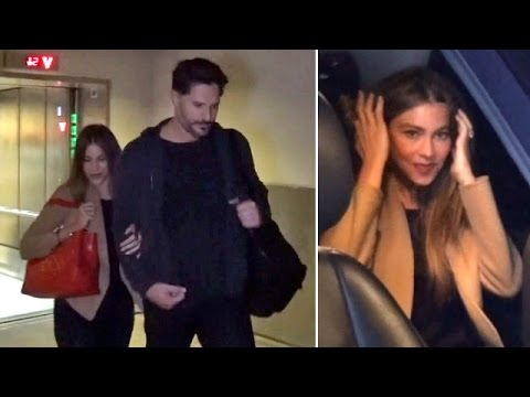 Sofia Vergara Flashes Ring, Clings To Fiance Joe Manganiello After Miami Vacay