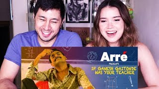 ARRE | IF GAITONDE WAS YOUR TEACHER | Sacred Games Spoof  | Reaction!