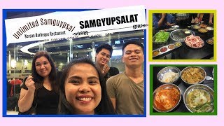 "VLOG#1: Enjoy Unlimited Samgyupsal at ""Samgyupsalamat"""