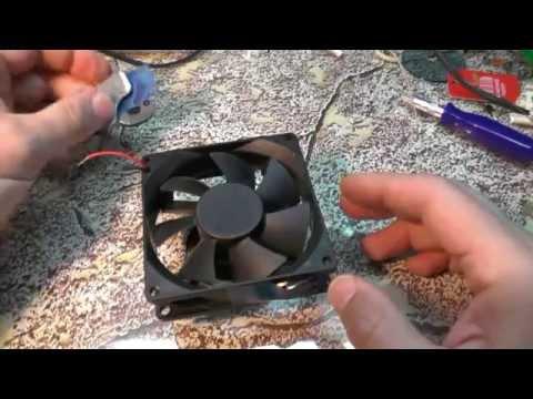 Вентилятор на 12 вольт как сделать 572
