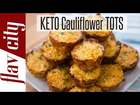 Keto Cauliflower Tots - Low Carb Ketogenic Snack Ideas thumbnail