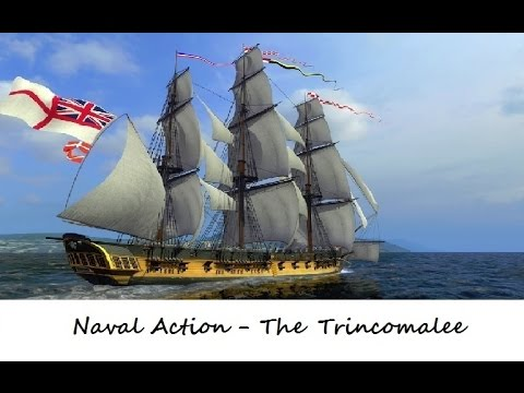 Naval Action : The Trincomalee ; Beauty and a Beast