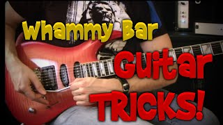 Whammy Bar Rockstar Tricks!