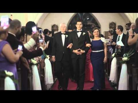 Así fue la boda de nuestro portero de la Sele Jaime Penedo, felicidades Jaime