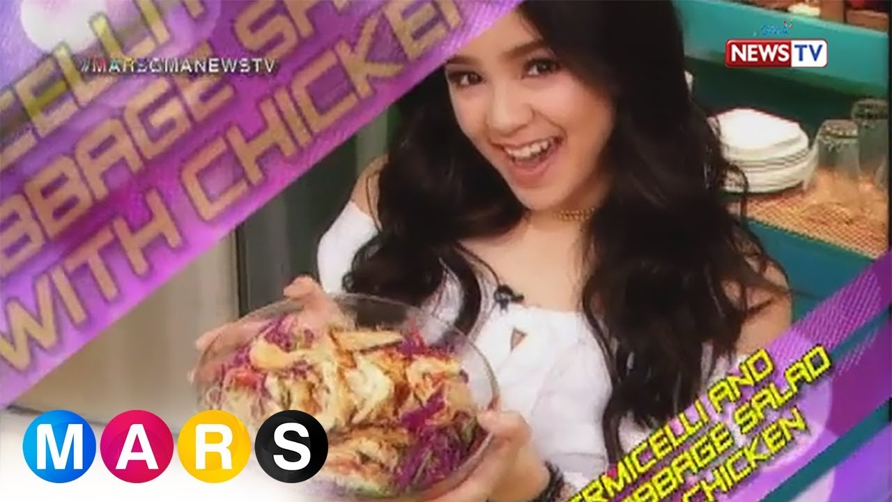 Mars Masarap:  Vermicelli and Red Cabbage Salad with Chicken by Mikee Quintos