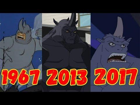 Эволюция Носорога (1967-2017)