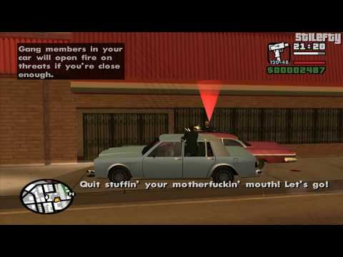 GTA San Andreas - Mission #5 - Drive-Thru