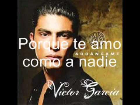 Victor García - Ayer Pedí - Letra - YouTube