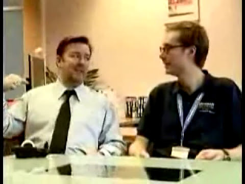 The Office Values - Microsoft UK Training with David Brent 3