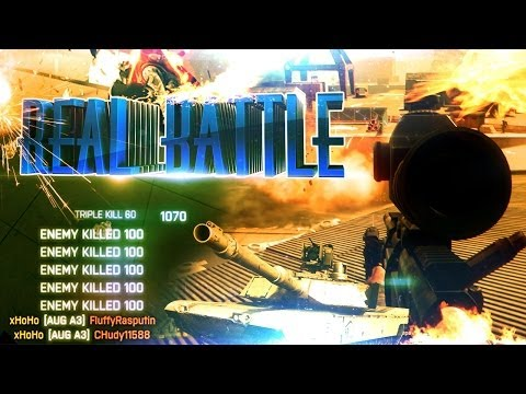 REAL BATTLE | Battlefield 3 Montage by xHoHo