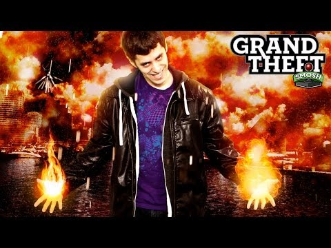 SMOSH GAMES IS ON FIRE! (Grand Theft Smosh)