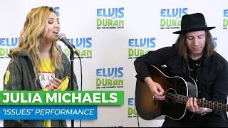 "download lagu Julia Michaels - ""issues"" Acoustic  Elvis Duran Live gratis"