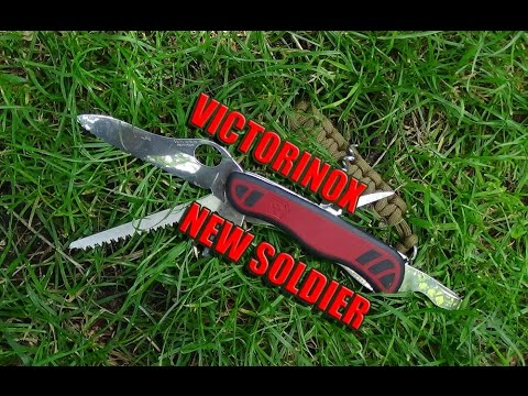ABSsupervivencia: Victorinox New Soldier TEST