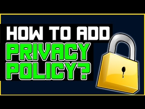 How To Add Privacy Policy To Wordpress Easy Plugin