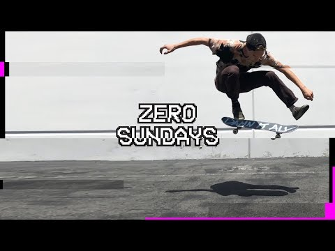 16 Flawless Flatground Tricks by Chris Wimer | Zero Sundays - ep 7