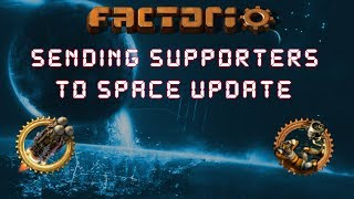 Factorio 0.15 Sending Supporters To Space Update! - Let's Play, Gameplay