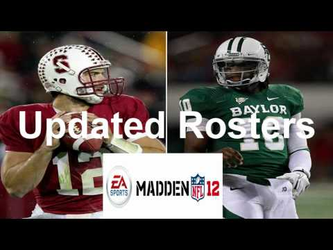 How to get madden 13 rosters on madden 12 (Xbox 360 only) (Repload