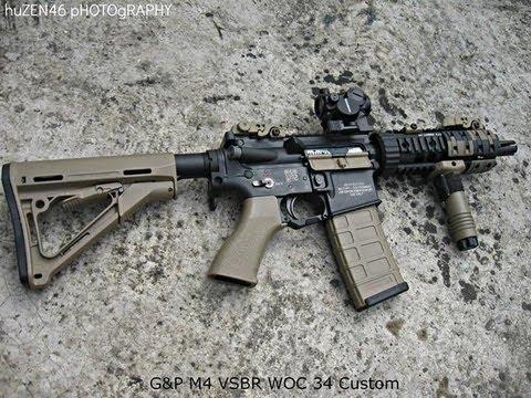 Best Custom Paint Airsoft Guns