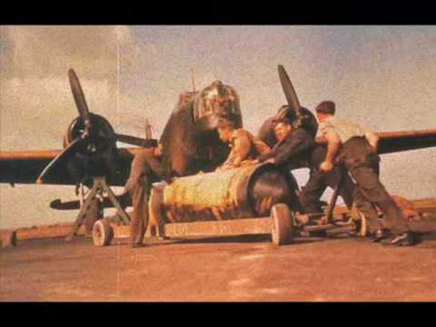 RAF Aircraft Of WWII In Colour Music Videos