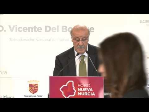 Foro Nueva Murcia, con Vicente del Bosque
