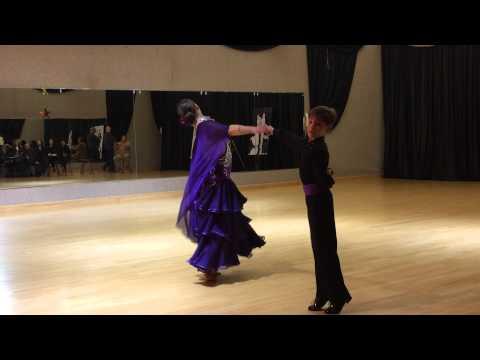 John Carlson & Iya Khatiashvili - Viennese Waltz Showcase 3-29-2014 MP3