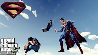 SUPERMANN !!! - GTA 5 Mod Tanıtımları - GTA 5 Superman