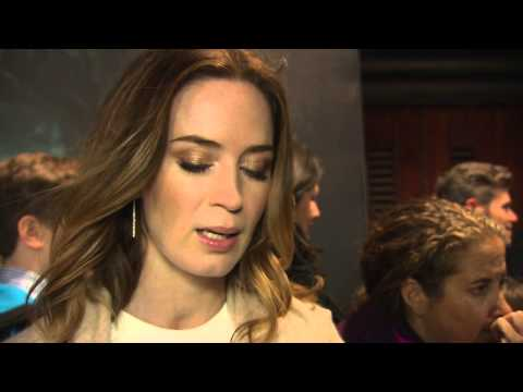 Into The Woods: Emily Blunt London Movie Premiere Interview