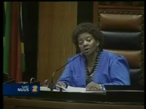 The joke of South African Parliament