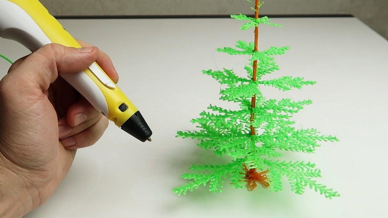 Как нарисовать 3д ручкой подарок 21