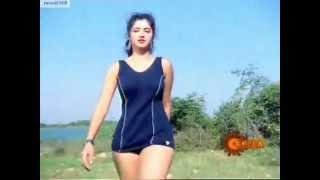 Naa Ille Naa Swargam Swimming Scene - Part 1 (Good Quality)