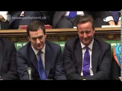 Labour leader Ed Miliband replies to George Osborne 2014 Tory Budget