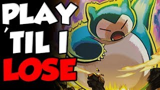 Snorlax Sweep Edition - Play Til I Lose Pokemon Let's Go WiFi Battles