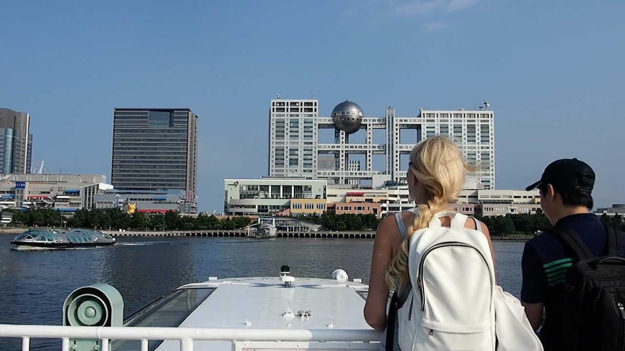 How to enjoy the water bus : From Asakusa to Odaiba with a great view