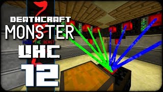 DeathCraft Monster UHC SMP - S2 Ep 12 - Lasers!