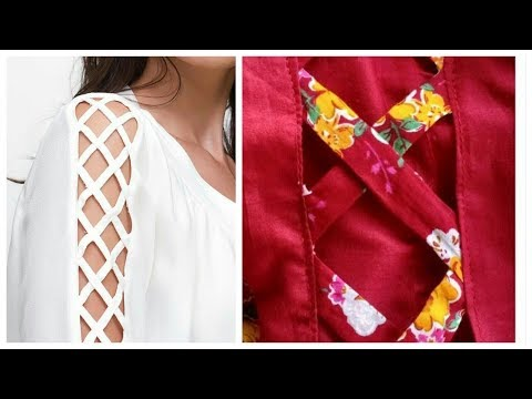 Sleeves Design cutting and stitching tutorial Hindi/Urdu