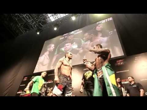 Fight Night Brasilia All Access Weighins