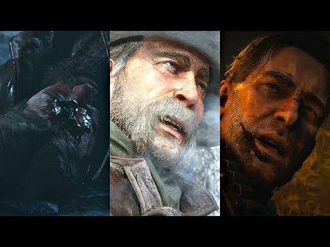 Red Dead Redemption 2 - ALL 4 ENDINGS (True/Good/Bad/Secret)