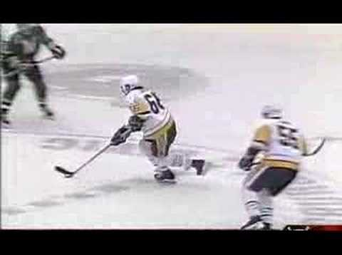 Lemieux's Goal against North Stars Video