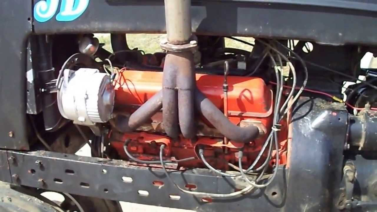 Ih Farmall Md Diesel Antique Open Pulling Tractor Mod Chevy V8