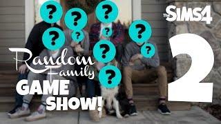Random Family Game Show EP 2 (Sims 4)
