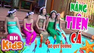 Nàng Tiên Cá ♫ Bé Quý Dương ♫♫ Nhạc Thiếu Nhi Vui Nhộn