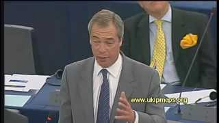 There is a gathering electoral storm - Nigel Farage MEP