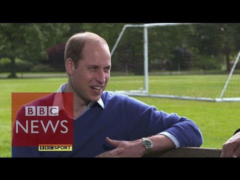 Why does Prince William support Aston Villa? BBC News