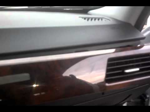 BMW Interior Wood Trim Removal on Dash,  Air Vent Center Trim, E90 3 Series BMW