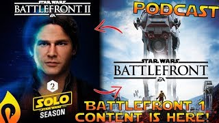 Our Reactions To The Han Solo Season In Star Wars Battlefront 2!