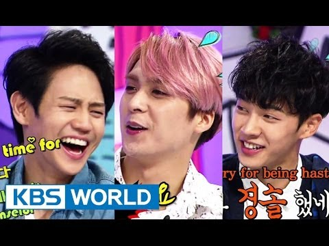 Hello Counselor - Gikwang, Yoseop, Junhyung,dongwoon Of Beast! (2014.06.30) video