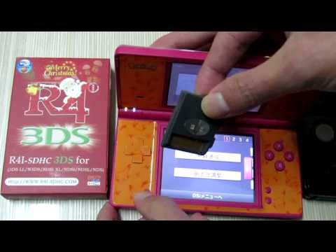 R4i 3DS Card Works Directly on DSi (XL) 1.4.5.flv